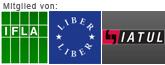 Die ULB ist Mitglied von IFLA, LIBER und IATUL